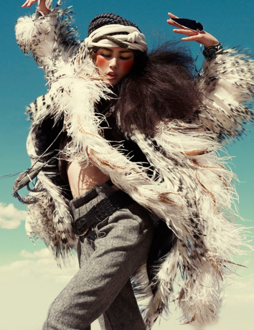 Liu Wen in Vogue, Germany